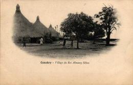 CONAKRY - Village Du Roi Almamy Sékou - Guinée Française