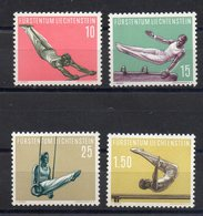 LIECHTENSTEIN  Timbres Neufs ** De 1957  ( Ref 971C )   Sport - Athlétisme - Liechtenstein