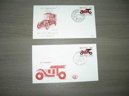 """BELG.1971 1568 FDC Wetteren & Seraing   """"50e Autosalon- 50e Salon De L'automobile"""" - 1971-80"""