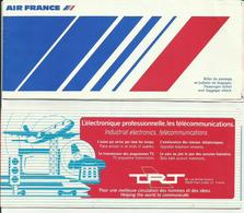 AIR FRANCE - Billet/Ticket Passager - 1978 - PARIS ORLY/BORDEAUX - Tickets