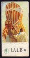 DUDOVICH - LA LIBIA - Publicité Pubblicità FOLDER BROCHURE GUIDE 1938 (see Sales Conditions) - Dépliants Turistici