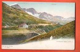 EBG-31 Furkapasshöhe, Col De La Furka. Précurseur, Non Circulé - VS Valais