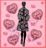 France Oblitération Cachet à Date BF N°  80 Coeur De CACHAREL - Sheetlets