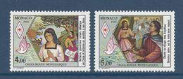 Monaco - YT N° 1649 Et 1650 - Neuf Sans Charnière - 1988 - Monaco
