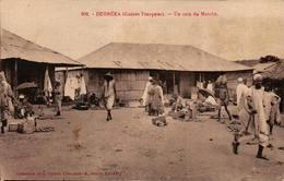 Guinée Française - DUBREKA - Un Coin Du Marché - Guinée Française