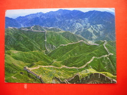 VIEWS AROUND PEKING.The Great Wall - Chine