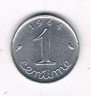 1 CENTIME 1961 FRANKRIJK /8659/ - France