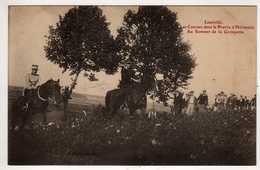 54 :  Lunéville : Les Courses Dans La Prairie D'Hériménil,au Sommet De La Grimpette - Luneville
