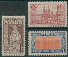 España 1937. Edifil 833/35** - Cat. 2016: 108€ - Año Jubilar Compostelano - 1931-50 Nuevos & Fijasellos