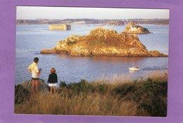 29 CARANTEC Dans La Baie De Morlaix L'île Louet Et Le Château Du Taureau - Carantec