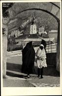 Cp Mostar Bosnien Herzegowina, Teilansicht Von Der Ortschaft, Verschleierte Frauen - Bosnie-Herzegovine