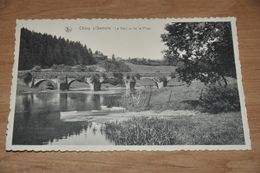 6661-  CHINY S/SEMOIS, LE PONT VU DE LA PLAGE - 1939 - Chiny