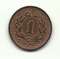 1932 - Svizzera 1 Rappen - Svizzera