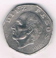 10 PESOS 1985 MEXICO /8667/ - Mexique