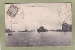PORT SAID  THE PORT - Port-Saïd