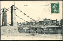 Agde - Pont Suspendu - Voir 2 Scans - Agde