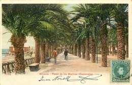 ESPAGNE - ALICANTE - PASEO DE LOS MARTIRES - ESPLANADA - Alicante