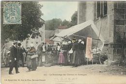 Puy De Dome : Manzat, Le Brocantage De Cheveux En Auvergne - Manzat