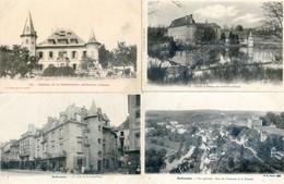 23 - Aubusson Et Environs - Lot De 7 Cartes - Vaveix, Gare, Chabassière, Terrade, Blessac - Aubusson