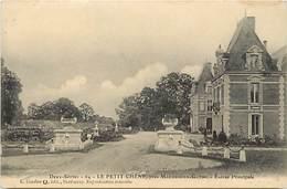 -depts Div.-ref-AE927- Deux Sèvres - Maizieres En Gatine - Le Petit Chêne - Entree Principale - Chateau - Chateaux - - Mazieres En Gatine