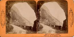 Lac 4 Cantons, J.Andrieu, B.K.Paris, Route Fluelen A Brunnen - Stereo-Photographie