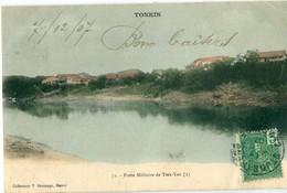 VIET NAM / TONKIN : Collection Demange N° 71 - Poste Militaire De Tien Yen (2) - Viêt-Nam