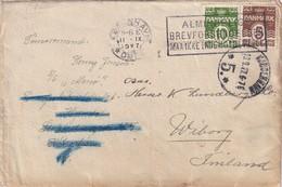 DANEMARK 1927 LETTRE DE COPENHAGUE - 1913-47 (Christian X)