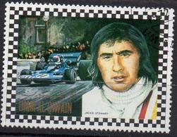 UMM AL QIWAIN N° 823A O MI 1972 Pilotes Automobile (Jacky Stewart) - Umm Al-Qiwain