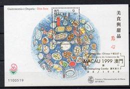MACAO  Timbre Neuf ** De  1999  ( Ref 5876 )  Alimentation - Gastronomie - 1999-... Région Administrative Chinoise