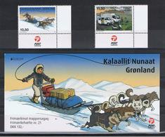 GROENLANDIA:  2013  EUROPA  CEPT  -  S. CPL. 2 VAL. N. +  12  VAL. IN  CARNET  -  YV/TELL. - 2013