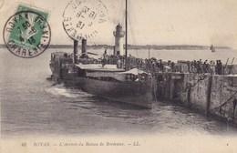 Charente-Maritime - Royan - L'arrivée Du Bateau De Bordeaux - Royan