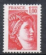FRANCE N°1972 N**  Variété Gomme Tropicale - France