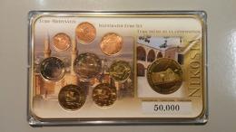 RC 10696 CHYPRE - SERIE EURO + MEDAILLE NIKOSIA EN COFFRET BU NEUF TB - Chipre