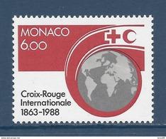Monaco - YT N° 1637 - Neuf Sans Charnière - 1988 - Monaco