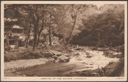 Meeting Of The Waters, Lynmouth, Devon, C.1930 - Tuck's Postcard - Lynmouth & Lynton