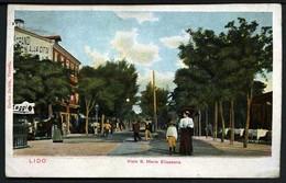 (Venezia) - Lido - Viale S. Maria Elisabetta - Viaggiata 1904 - Rif.  11727 - Venezia