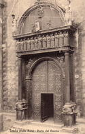CPA Italie Piemonte Cuneo Tenda Valle Roja Porta Del Duomo - Cuneo