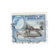 Timbre Oblitéré : Rhodesia And Nyasaland - Autres - Afrique