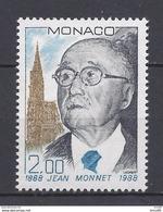 Monaco - YT N° 1638 - Neuf Sans Charnière - 1988 - Monaco