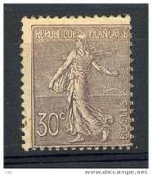 France  :  Yv  133  **     ,  N3 - 1903-60 Semeuse A Righe