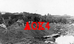 DIKSMUIDE Stuivekenskerke Tervate Haus Kutscher Yser Flandern IJzer 1917 Bunker Minenwerfer MEBU Beton - Diksmuide