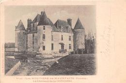 MOUTIERS LES MAUXFAITS       CHATEAU DE LA CANTAUDIERE  ROBUCHON EDITEUR - Moutiers Les Mauxfaits
