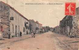 MORTEROLLES -  La Route De Bessinesanimée ( Voir état ) - France