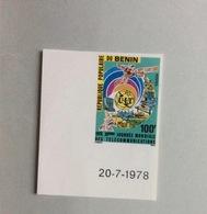 Timbre Bénin : Journée Mondiale Des Télécommunications, 1978 - Benin - Dahomey (1960-...)