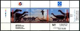 MICRONESIA 1994** - Dinosauri - Block Di 3 Val. MNH, Come Da Scansione. - Francobolli
