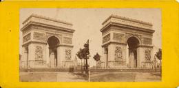 Paris, Arc De Triomphe De L'Etoile - Photos Stéréoscopiques