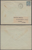 GUINEE 1898 EP 15c De Conakry Vers Valence (5G22568) DC-1197 - Lettres & Documents