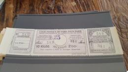 LOT 430251 TIMBRE DE FRANCE NEUF** LUXE N°188 COLIS POSTAUX DE PARIS POUR PARIS - Paketmarken