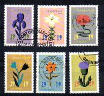 Netherlands - 2004 - Flower Paintings - Used - 1980-... (Beatrix)