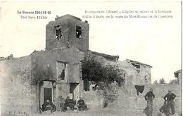 Bethincourt L'église En Ruines - Francia